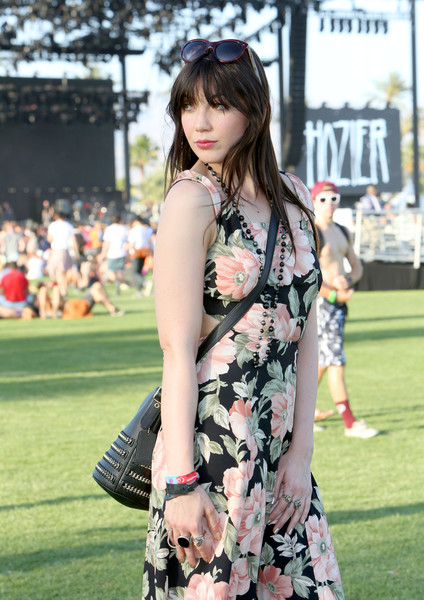 Daisy Lowe Statement Ring [street style,clothing,street fashion,fashion,beauty,shoulder,dress,snapshot,leg,model,long hair,daisy lowe,coach handbag,the empire polo club,indio,california,coachella valley music and arts festival]