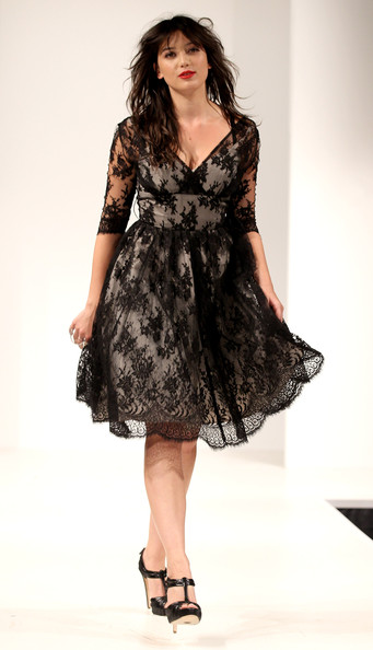 Daisy Lowe Lace Dress [clothing,fashion model,dress,day dress,fashion,cocktail dress,shoulder,sleeve,neck,leg,daisy lowe,vintage,part,lives,soundtrack of our,england,chichester,goodwood festival,fashion show]
