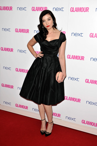 Daisy Lowe Little Black Dress [clothing,dress,cocktail dress,fashion model,little black dress,carpet,red carpet,premiere,fashion,shoulder,arrivals,daisy lowe,glamour women of the year awards,england,london,berkeley square gardens]