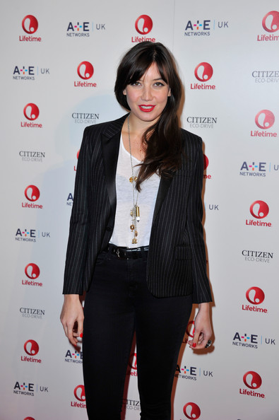 Daisy Lowe Gold Charm Necklace []