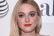 Dakota Fanning Bright Lipstick