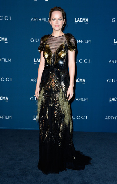 Dakota Johnson Evening Dress
