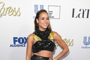 Dania Ramirez Patent Leather Purse
