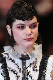 SoKo turned heads with her nest-like bangs at the Cannes premiere of 'I, Daniel Blake.'