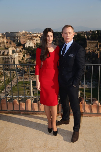 'SPECTRE' Photocall On Location In Rome, Italy