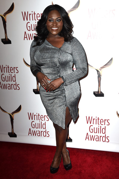 Danielle Brooks Form-Fitting Dress