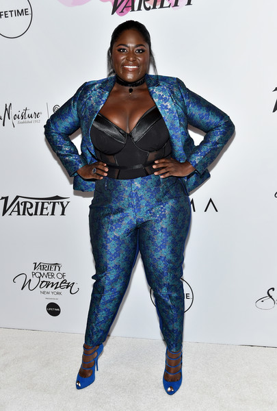 Danielle Brooks Peep Toe Pumps
