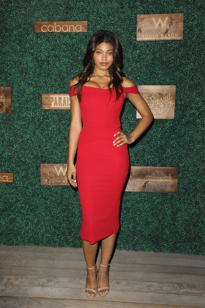 Danielle Herrington Off-the-Shoulder Dress