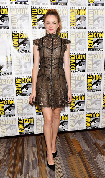 Danielle Panabaker Lace Dress
