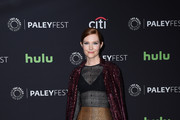 Darby Stanchfield Evening Coat