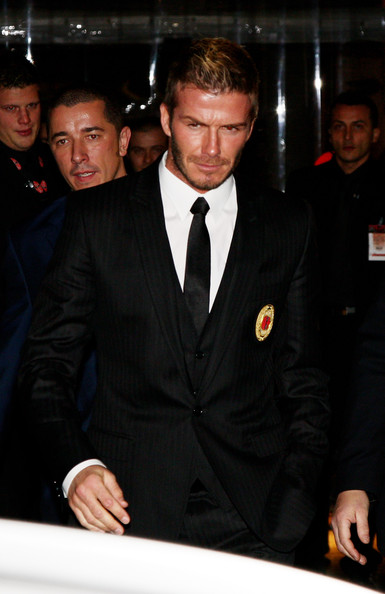 More Pics of David Beckham Classic Solid Tie (3 of 10) - David Beckham Lookbook - StyleBistro
