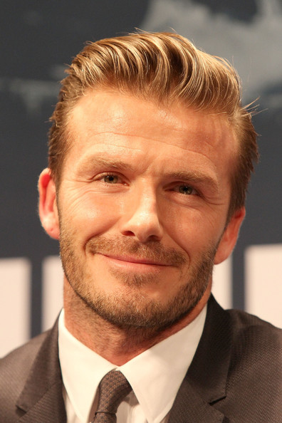 More Pics of David Beckham Short Side Part (1 of 30) - David Beckham Lookbook - StyleBistro