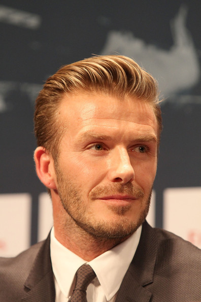 More Pics of David Beckham Short Side Part (2 of 30) - Hair Lookbook - StyleBistro