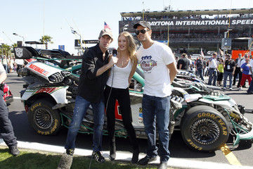 Michael Bay Rosie Huntington-Whiteley Daytona 500