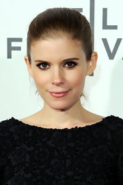 Kate Mara wore rich smoky shades of shadow with lots of lengthening mascara at the 'DeadFall' premiere at the Tribeca Film Festival.