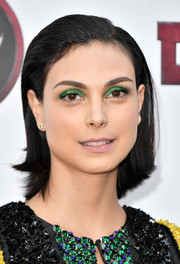 Morena Baccarin attended the New York screening of 'Deadpool 2' wearing her hair in a retro bob.