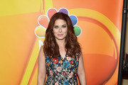 Debra Messing Embroidered Dress