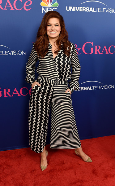 Debra Messing Print Pants