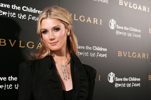 Delta Goodrem Diamond Chandelier Necklace