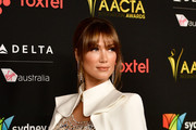 Delta Goodrem Metallic Clutch