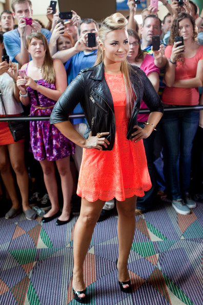 Demi Lovato Lace Dress