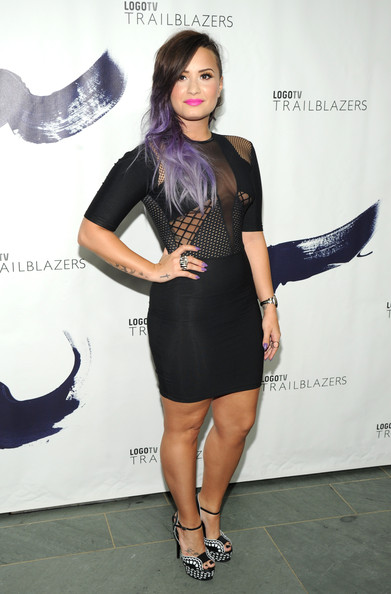 Demi Lovato Little Black Dress