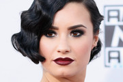 Demi Lovato Finger Wave