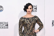Demi Lovato Form-Fitting Dress