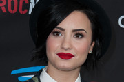 Demi Lovato Red Lipstick