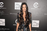 Demi Moore Print Dress