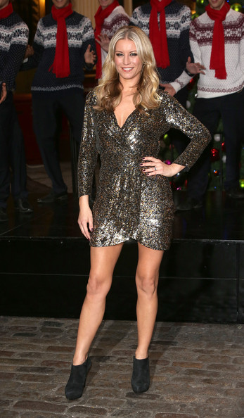 Denise van Outen Mini Dress