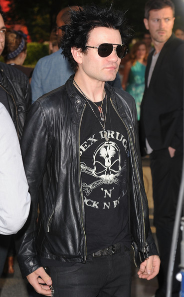 Deryck Whibley Aviator Sunglasses