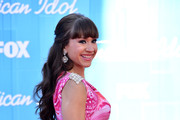 Diana DeGarmo Long Wavy Cut with Bangs