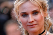 Diane Kruger Diamond Collar Necklace