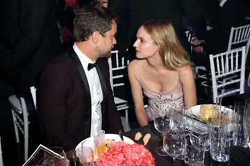 Diane Kruger Joshua Jackson FIJI Water at amfAR's Inspiration Gala Los Angeles