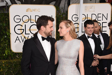 Diane Kruger Joshua Jackson Arrivals at the Golden Globe Awards — Part 2