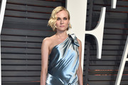 Diane Kruger One Shoulder Dress