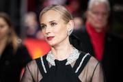 Diane Kruger Satin Clutch