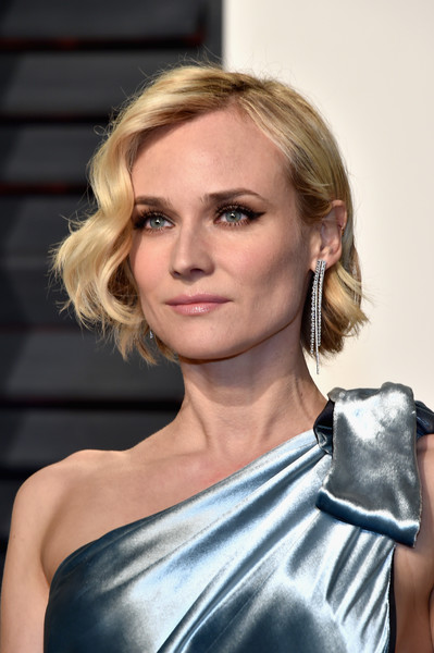 Diane Kruger Short Wavy Cut Newest Looks