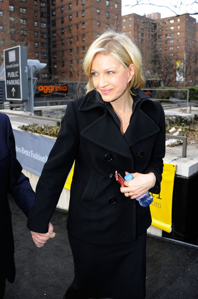 Diane Sawyer Pea Coat