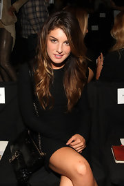 Shenae attended the DVF Fashion Show toting a Morning After clutch in quilted leather.