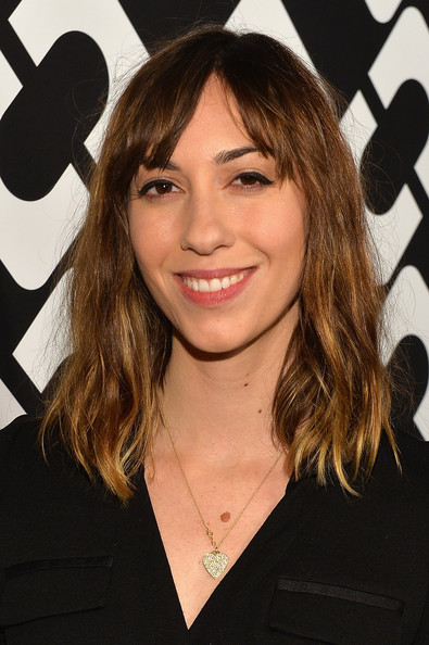 Gia Coppola wore an edgy wavy 'do when she attended the Journey of a Dress exhibition opening.