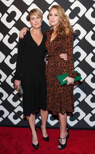 Robin Wright and Dylan Penn