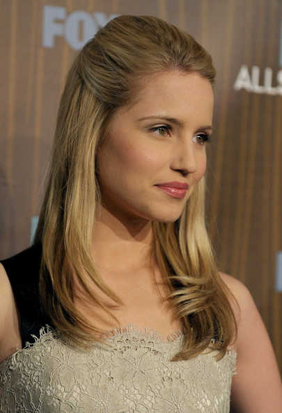 Dianna Agron Medium Straight Cut
