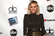 Kelsea Ballerini teamed a studded belt with a leopard-patterned skirt and top for Dick Clark's New Year's Rockin' Eve 2019.