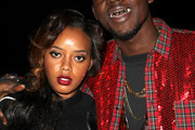 Theophilus London and Angela Simmons Photo