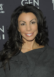 Famous NJ 'housewife' Danielle Staun wore her hair in long curls for the screening of Youth in Revolt.