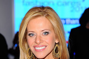 Dina Manzo Gold Dangle Earrings