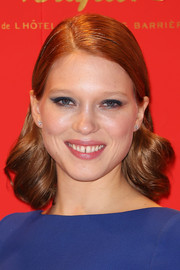 Lea Seydoux was vintage-chic with her short curly 'do at the 2014 Cesar Film Awards.