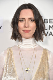 Rebecca Hall rocked a choppy bob at the Tribeca Film Festival premiere of 'The Dinner.'